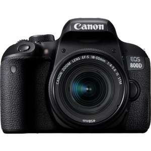 Canon EOS 800D DSLR Camera, 18-55mm IS STM Lens Kit with FREE Accessory Pack £550 @ CameraWorld