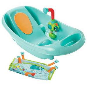 Summer Infant My Fun Tub Baby Bath Seat With Sprayer - Turquoise £22.90 delivered @ Online4baby