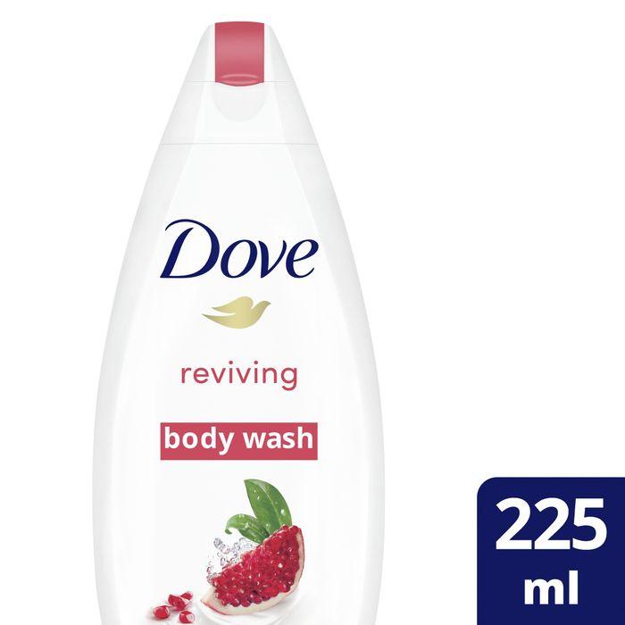 Dove Pomegranate & Verbena Scent Body Wash 225Ml - 95p @ Tesco (Min basket £40 + up to £4 delivery)