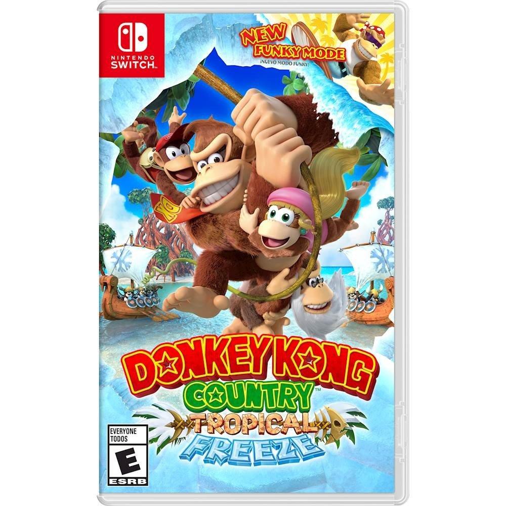 Donkey Kong Country: Tropic Freeze - Nintendo Switch [Digital Code] - £32.32 @ Amazon USA