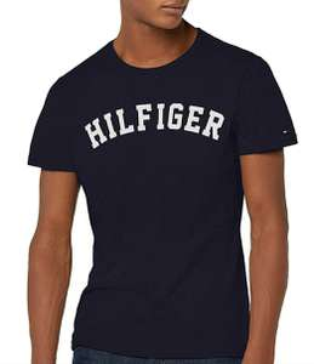 Tommy Hilfiger Men's SS Tee Logo T-shirt - £7 Prime (+£4.49 non-Prime) @ Amazon