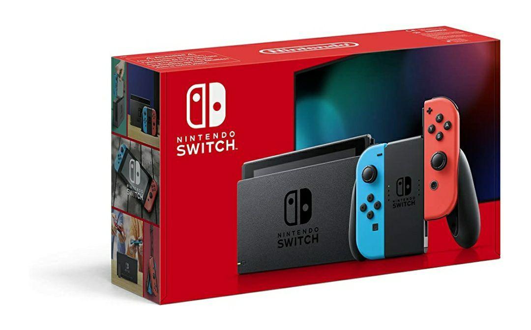 Nintendo Switch Neon - £299 @ Amazon