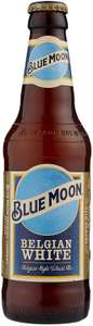 Blue Moon American Craft Wheat Beer 12 X 330ml Bottles £18 prime / £22.49 nonprime Amazon