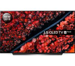 """LG OLED55C9PLA 55"""" Smart 4K Ultra HD HDR OLED TV with Google Assistant Free 5 Year Guarantee £1199 Currys PC World"""