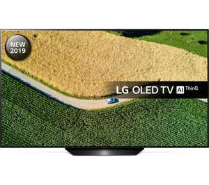 "LG OLED55B9PLA 55"" Smart 4K Ultra HD HDR OLED TV with Google Assistant Free 5 Year Guarantee £999 Currys PC World"