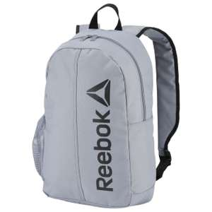 Reebok Active Core Backpack Now £9.08 with code Grey, Black, Blue @ Reebok