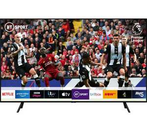 "SAMSUNG QE75Q70RATXXU 75"" Smart 4K Ultra HD HDR QLED TV with Bixby £1,649 Delivered & 6 Months Spotify @ Currys PC World"
