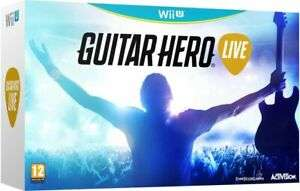 Guitar Hero Live with Guitar Controller - Wii U £19.99 eBay / stockmustgo