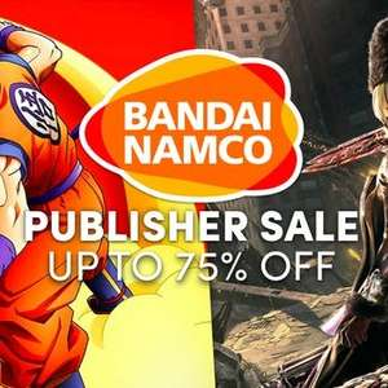Bandai sale at Humble Bundle store - from £1.25