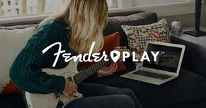 Fender play 3 months free online guitar lessons. Now for up to 1 million subscribers