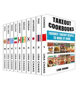 Takeout Cookbooks Box Set 10 books in 1! FREE ebook kindle edition @ Amazon