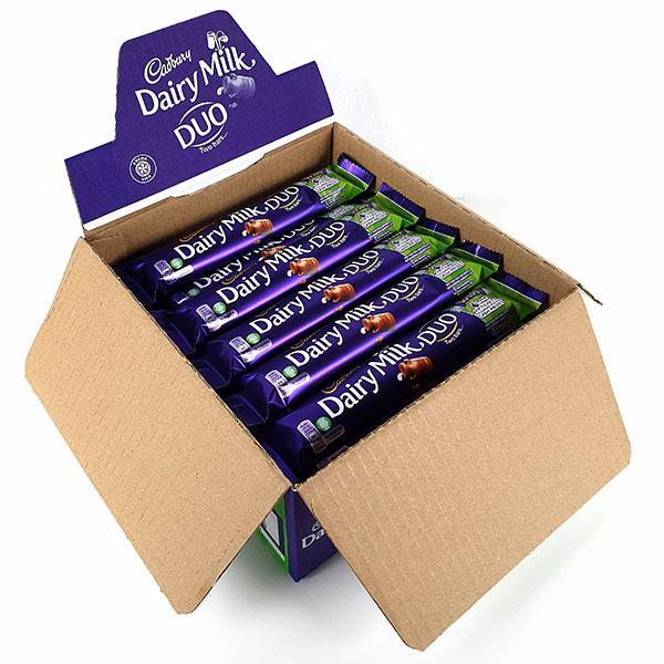 36 x Dairy Milk Duo 58.6g Twin Chocolate Bars £15 delivered @ Yankee Bundles