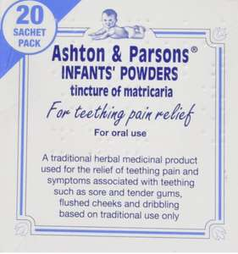 Ashton & Parsons Infants' Powders Oral Medication £2.55 (Prime) / £7.04 (non Prime) at Amazon
