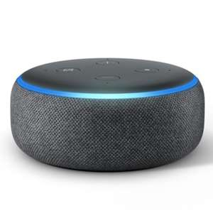 2 x Amazon Echo Dot (3rd Gen) Smart Speakers - Black, Grey or White for £48 delivered (using code) @ AO
