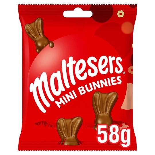 Malteaser malteaster bunny bag, pack of x12 - £3.84 (Prime) £8.33 (Non Prime) @ Amazon