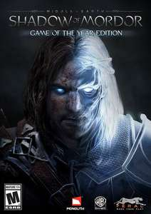 Middle-Earth: Shadow of Mordor Game of the Year Edition PC Steam - £1.99 @ Cdkeys