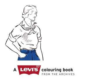 FREE - An activity to unwind and entertain - Levis Colouring Book