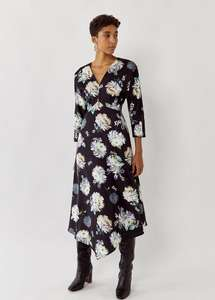 Floral Midi Dress was £69.99! Now £14.40 with code & Free Del. @ warehouse