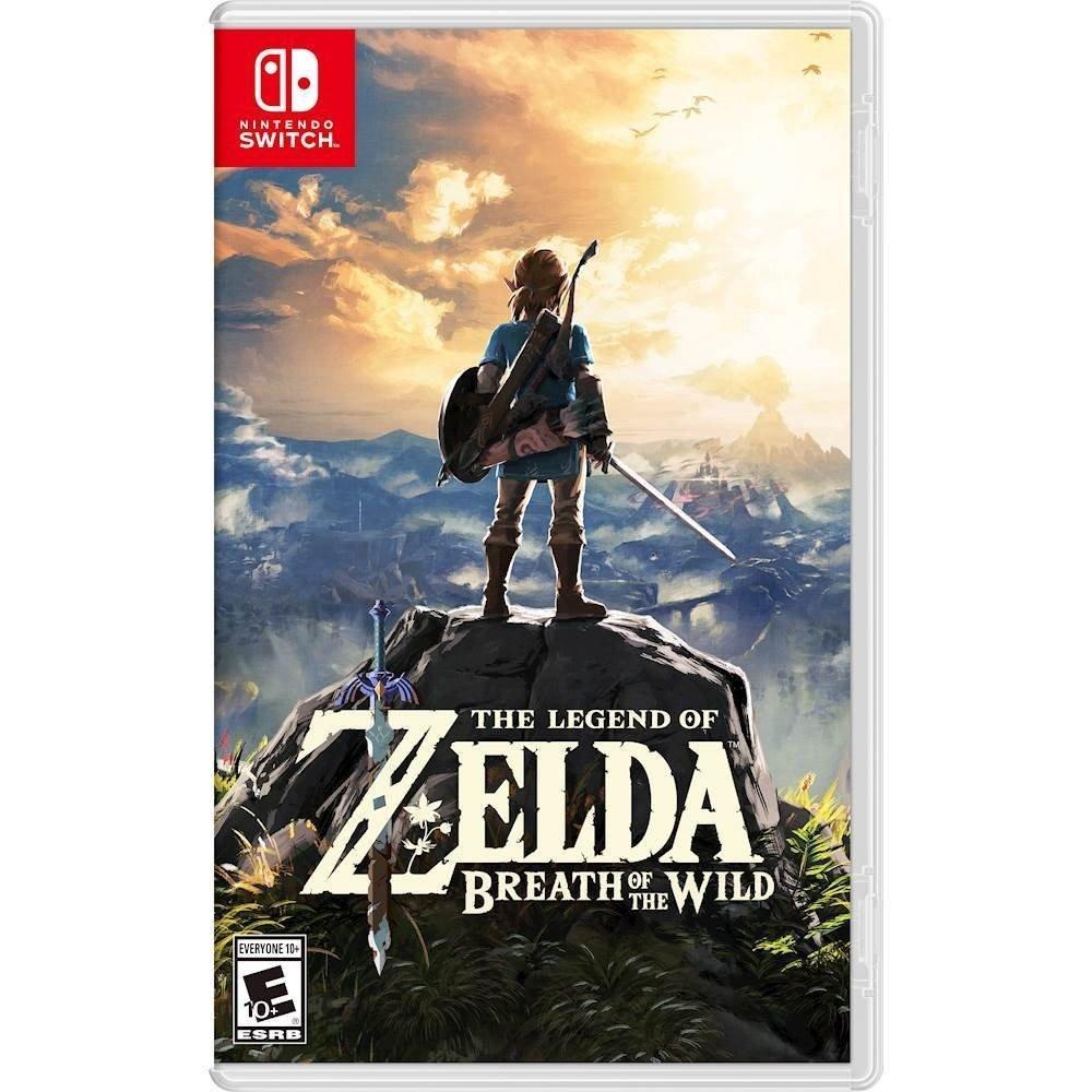 [Nintendo Switch] Legend of Zelda: Breath of the Wild - digital code £31.55 @ Amazon US