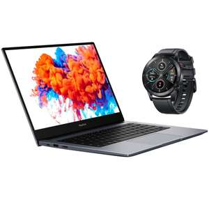 """HONOR MagicBook Laptop, Ryzen 5 3500U, 8GB RAM, 256GB SSD, 14"""" FHD IPS, Silver/Grey, £549.99 at John Lewis and partners (free MagicWatch 2)"""