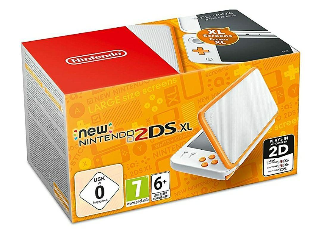 Nintendo 2DS XL White/Orange £117.77 @ Amazon