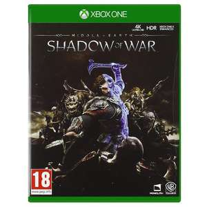 Middle-Earth: Shadow of War (Xbox one) £3.99 @ Monster Shop