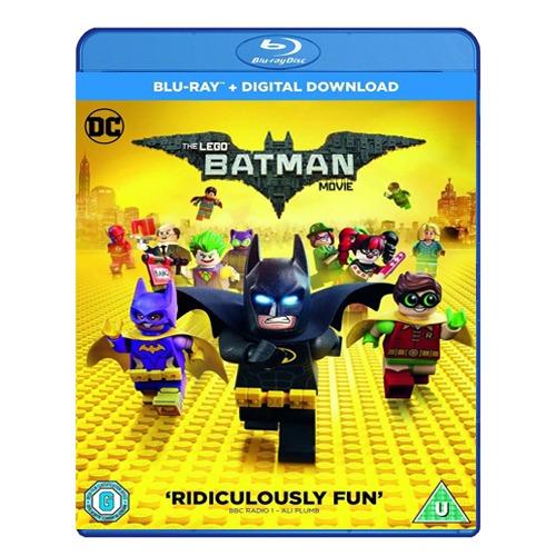 [Blu-Ray] The LEGO Batman Movie + Digital Download (2017) - £2.99 Delivered @ Monster Shop