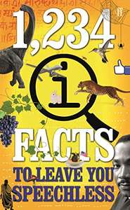 1,234 QI Facts to Leave You Speechless, £1 kindle ebook @ Amazon