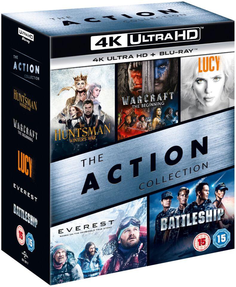 4K Action Box Set - 4K Ultra HD / 5 Movies £28.98 Delivered @Zavvi