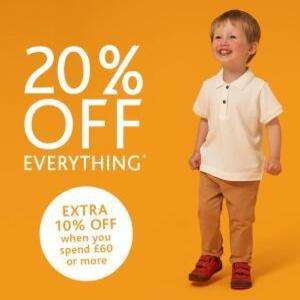 20% off Full Price Shoes (+10% extra if you spend £60 or more) @ Start-Rite