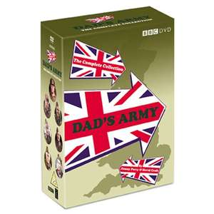 Dad's Army Complete Collection Box £14 @ Tesco (Min basket £40 + up to £4 delivery)