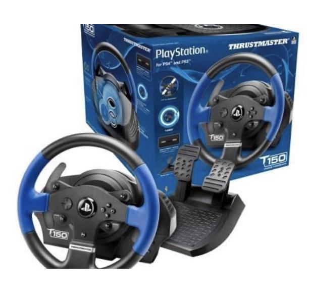 Thrustmaster T150 Force Feedback Racing Wheel - £124.99 @ Box