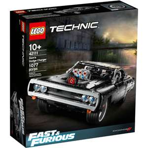 Lego Technic 42111 Dom's Dodge (Charger Fast & Furious) £84.99 at IWOOT