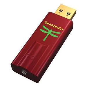 AudioQuest DragonFly Red USB digital to analogue converter grade 2 (not new) - £99.99 free delivery at AV online