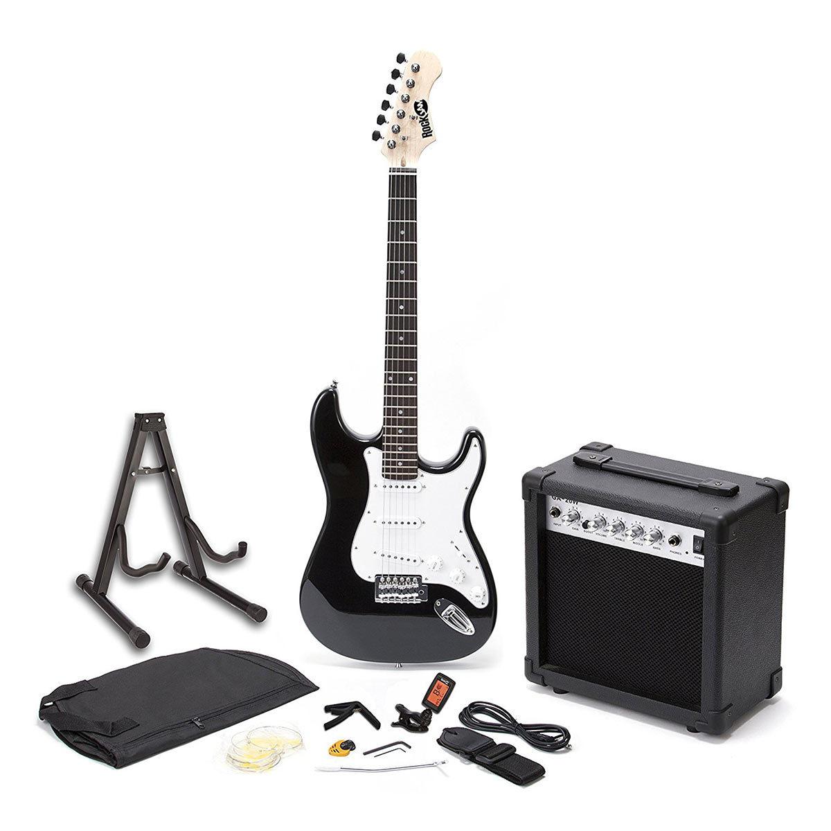 RockJam Electric Guitar Bundle in Black, RJEG01-SK-BK - £79.99 @ Costco
