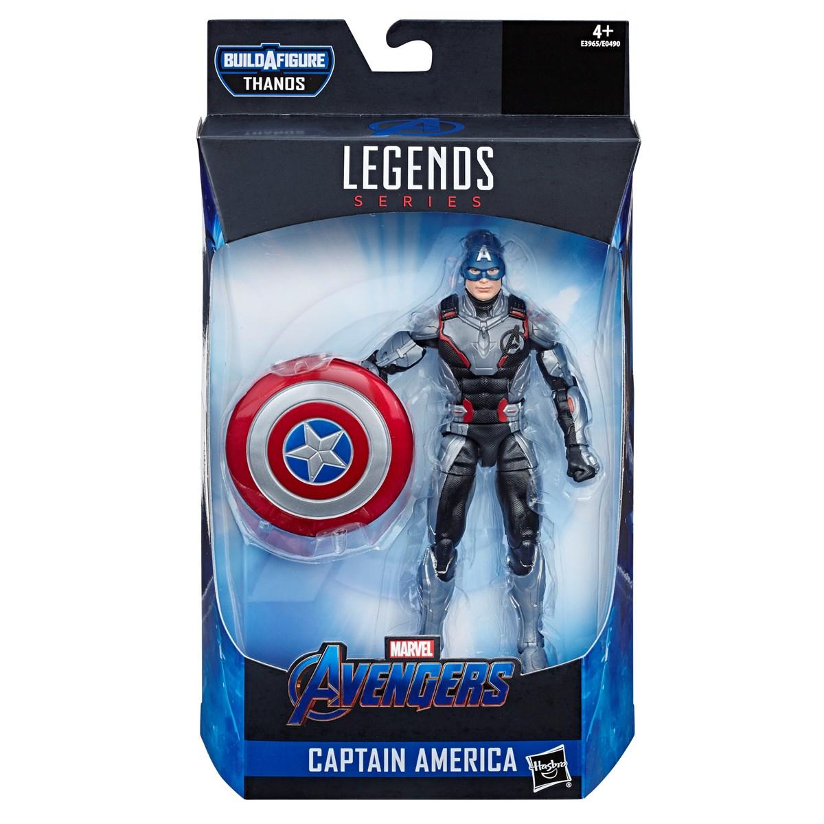 Marvel Legends Avengers Endgame Captain America 6 inch figure (£7.99) £10.94 delivered @ Zoom.co.uk