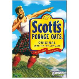 10 x 1kg Scott's Porage (Quaker) oats - £20.90 Delivered @ eBay / iforce_marketzone