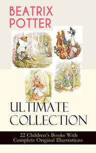 Amazon Kindle ebooks: Beatrix Potter Ultimate Collection - 22 stories - 49p