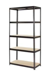 5 Tier Shelving Unit. 200kg Weight Limit. 1830 x 910 x 410mm - £39 (+£12.50 Delivery) @ Homebase