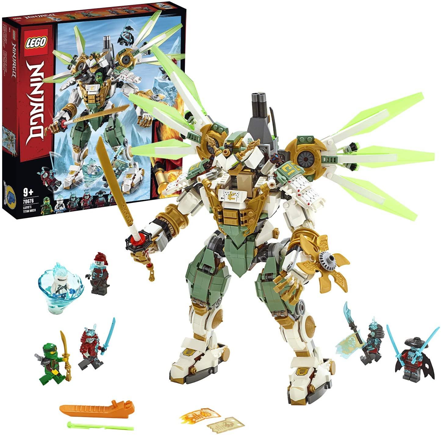 Lego Ninjago 70676 Lloyds Titan Mech £47.61 @ Amazon Germany