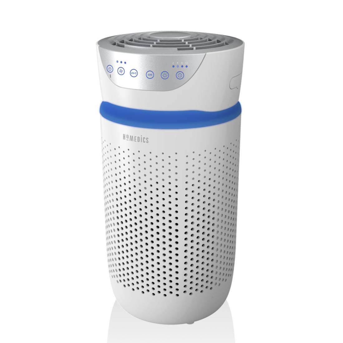 HoMedics Air Purifier AP-T20 (HEPA, carbon filter, UV-C light) £79.99 w/code @ Homedics Shop