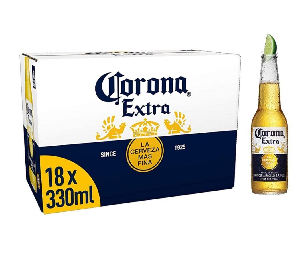 Corona Extra beer x 18 bottles £14 @ Aldi (Southend)