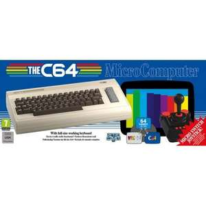 C64 Maxi Retro Console £99.95 at The Game Collection