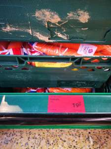 Nature's pick Carrots 1kg 19p @ Aldi Liverpool