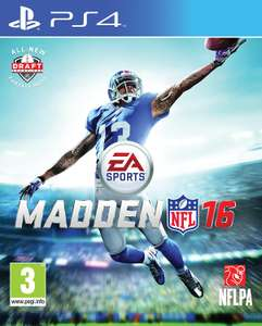 Madden NFL 16 (PS4) £4.70 @ Amazon (+£2.99 Non-prime)