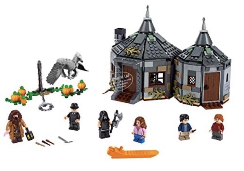 20% off Harry Potter - Hagrid's Hut Lego Set - £39.99 @ Amazon