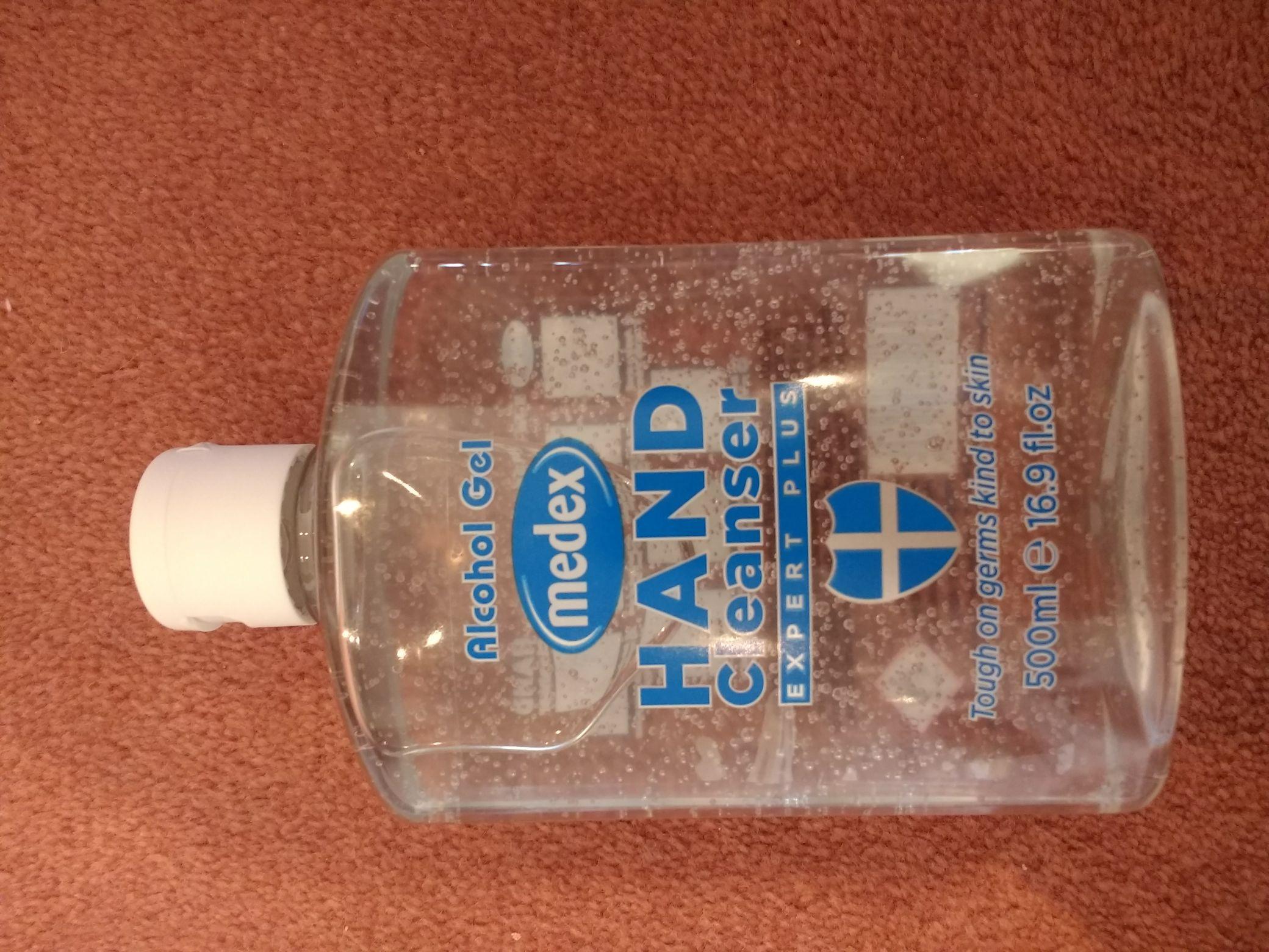 Alcohol Gel - Medex Hand Cleanser Expert Plus - £1.29 Instore @ Home Bargains (Peterlee)