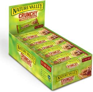 Nature Valley Crunchy Canadian Maple Syrup Cereal Bars 42g (Pack of 18 bars) £3.60 (Prime) £8.09 (Non-Prime) @ Amazon