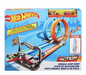 Hotwheels Double Loop Dash - £17.50 @ Tesco (Min basket £40 + up to £7 delivery)