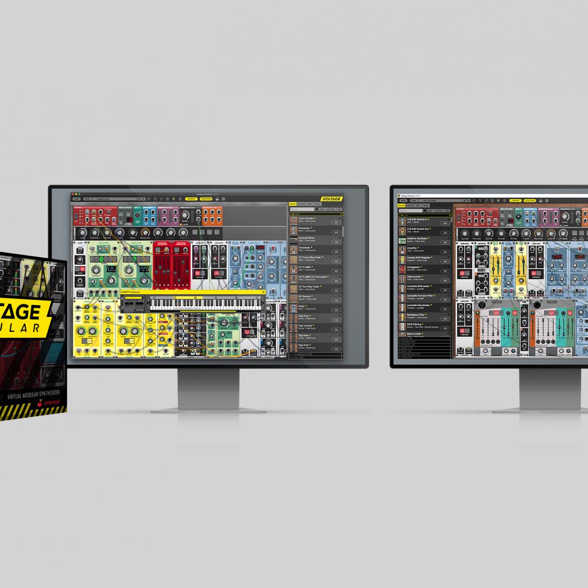 Free VSTi Voltage Modular Nucleus @ Cherry Audio